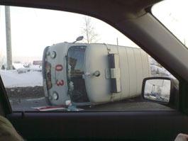 В Ижевске в серьезную аварию попала «скорая»