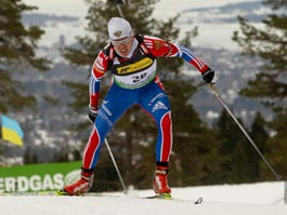 Спортсмен из Ижевска Иван Черезов занял 19 место в гонке на Кубке мира по биатлону