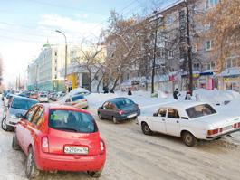 В Ижевске вводится односторонние движение по улице Красногеройской
