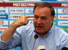 Дик Адвокат недоволен новичками сборной России