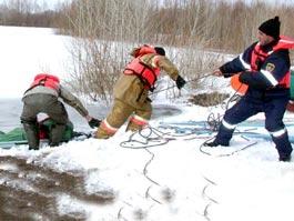 В Удмуртии рыбак-пенсионер замерз на льду