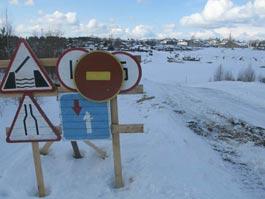 Из-за резкого потепления в Удмуртии снижена грузоподъемность ледовых переправ