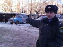 В Ижевске милиционер в свой выходной день поймал преступников