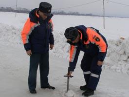 В Удмуртии закрыли одну из ледовых переправ