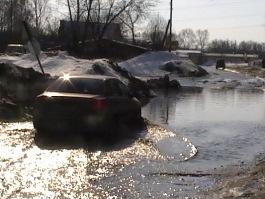 В Ижевск пришла весна: город тонет в лужах