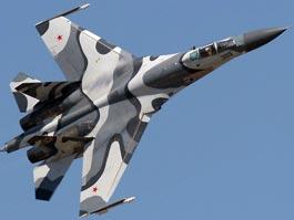 В Приморье разбился истребитель Су-27