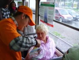 Сегодня по Ижевску будут ходить «трамваи здоровья»