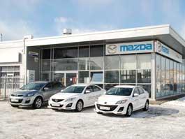В Ижевске официально открыли автосалон Mazda