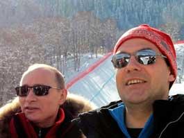 Медведев заработал меньше Путина