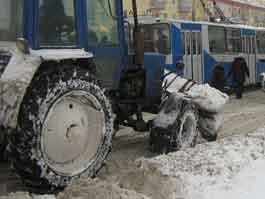 Снег в Ижевске должен сойти к понедельнику