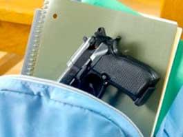 В США 6-летний ребенок пришел в школу с пистолетом