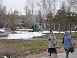 В Чистый четверг в Ижевске начался общегородской субботник