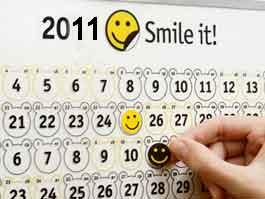 В России издадут календарь для оптимистов