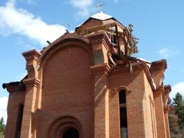 Интернациональную Пасху отпраздновали в строящейся армянской церкви Ижевска