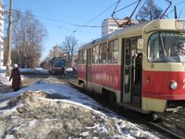 В Ижевске искали бомбу в городском трамвае