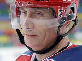 Ради Чемпионата мира Владимир Путин научился кататься на коньках