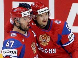 Сборная России по хоккею с трудом одержала победу
