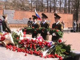 «Вахта памяти» напомнила ижевчанам о героях Великой Отечественной войны
