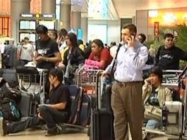 Россияне не могут вылететь из аэропорта Израиля