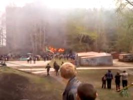 Пожар в Самаре: пять человек погибли, десятки пострадали