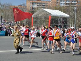 В Эстафете Мира в Ижевске приняло участие рекордное количество команд