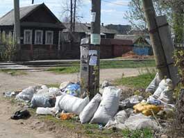 Жители Ижевска превращают в мусорную свалку Восточный поселок