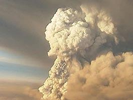 Из-за извержения вулкана в Исландии отменены рейсы из Европы