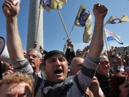 В Грузии началась революция
