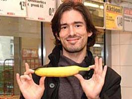 В Германии изобрели машину для распрямления бананов