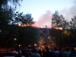 Пожар в Ижевске: из-за нетрезвого мужчины эвакуировали 250 человек