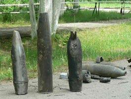 Более ста снарядов нашли около уничтоженного арсенала в Удмуртии