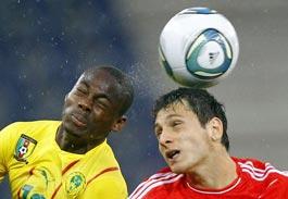 Футбольный матч России и Камеруна завершился нулевой ничьей
