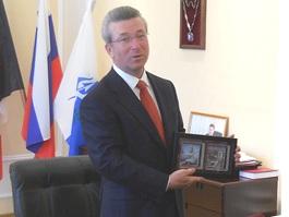 Оренбургскую делегацию в Ижевске удивили лоси