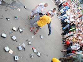 На автошоу в Ижевске зрители разбили 30 магнитол