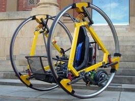 В Австралии придумали электродицикл, похожий на космический аппарат из «Звездных войн»