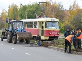 В выходные в Ижевске трамваи на Буммаш ходить не будут