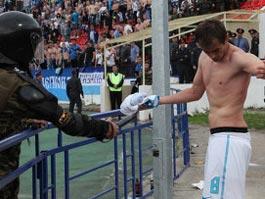 Медики подтвердили, что футболиста «Зенита» били электрошокером