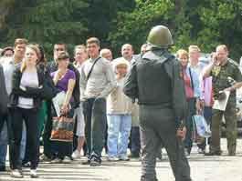 Жители Пугачево обвиняют сотрудников полиции в избиении