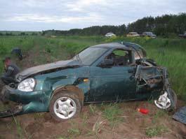За выходные в Удмуртии в ДТП погибли 10 человек