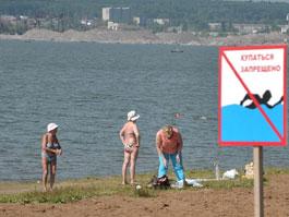 Ижевский пляж не прошел проверку