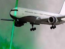 В Домодедово пилотов самолета пытались ослепить лазером