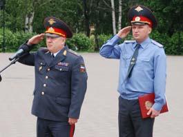 Глава полиции Ижевска успешно прошел аттестацию