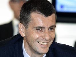 Прохоров потратит собственные 100 миллионов долларов на «Правое дело»