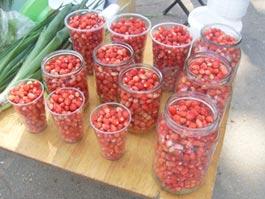 Первые ягоды: в Ижевске ведерко виктории уходит за 1 000 рублей