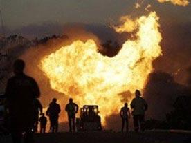 Диверсанты взорвали газопровод в Египте
