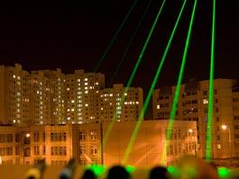 В Чечне запретили продавать лазерные указки