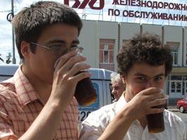 Власти Ижевска определили законные места торговли мороженым и квасом