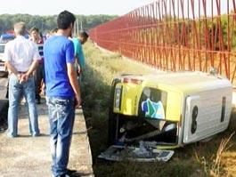 В Турции из-за солнца попал в аварию автобус с россиянами