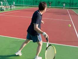 В Ижевске открыли профессиональные теннисные корты
