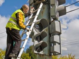 В Ижевске появятся 12 светодиодных светофоров